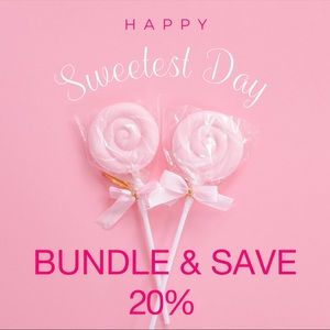 Save 20% when you bundle 2or more items 😍❤️❤️